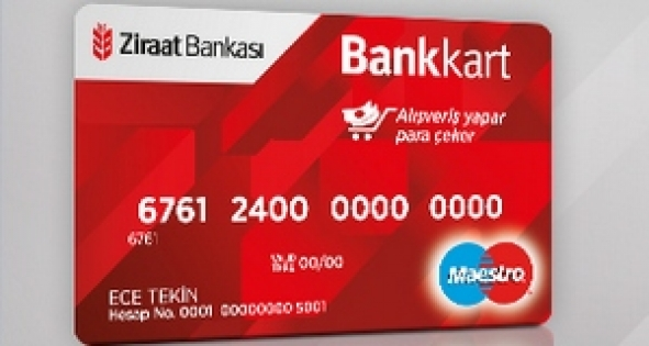 Hesap numarası kartın neresinde yazar